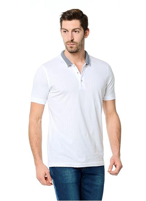 Ramsey Polo Yaka Tişört Beyaz